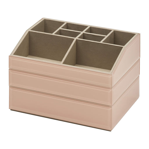 Bella Stackable Jewellery & Makeup Box Set - Blush New, Jewellery Boxes, Ozark Home