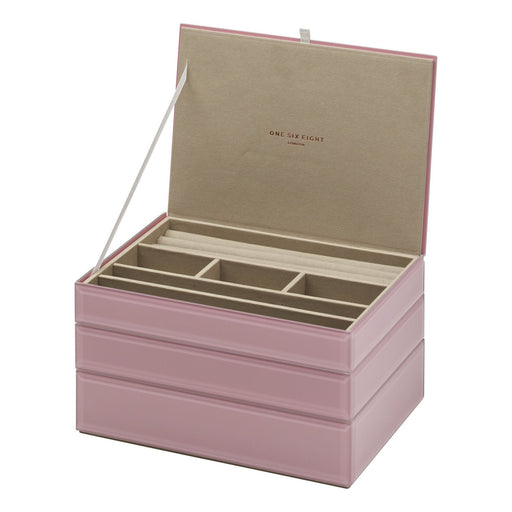 Bella Stackable Jewellery Box Set - Dusty Rose New, Jewellery Boxes, Ozark Home