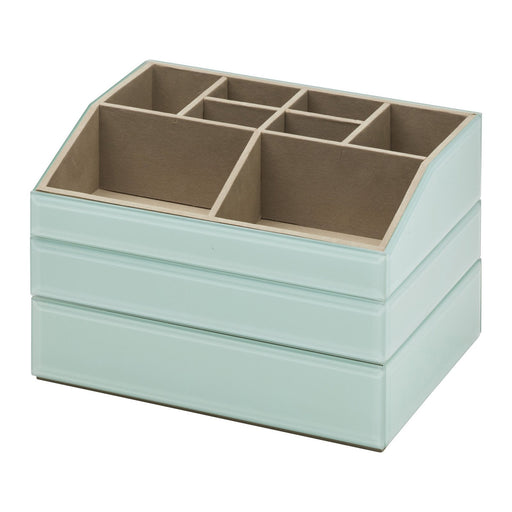 Bella Stackable Jewellery & Makeup Box Set - Mint New, Jewellery Boxes, Ozark Home