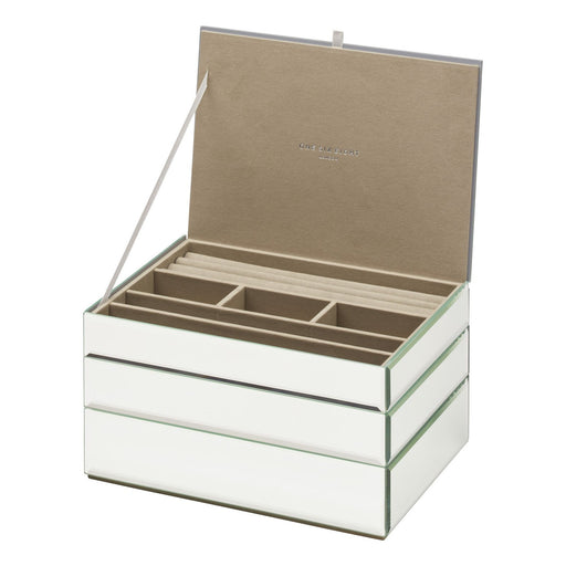 Bella Stackable Jewellery Box Set - Mirror New, Jewellery Boxes, Ozark Home