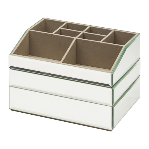 Bella Stackable Jewellery & Makeup Box Set - Mirror New, Jewellery Boxes, Ozark Home