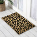 Leopard King PVC Backed Doormat, 60x40cm - Ozark Home