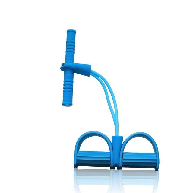 Latex Pedal Exerciser Sit-up Pull Rope