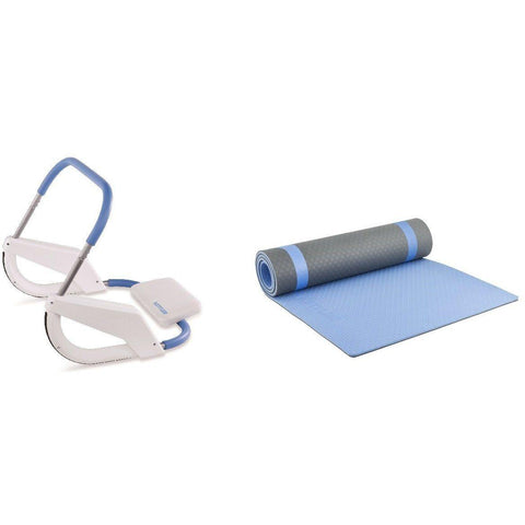 Kettler Premium Bauch Training Set inkl. Ab Roller und Matte, 53885 - trainer4you