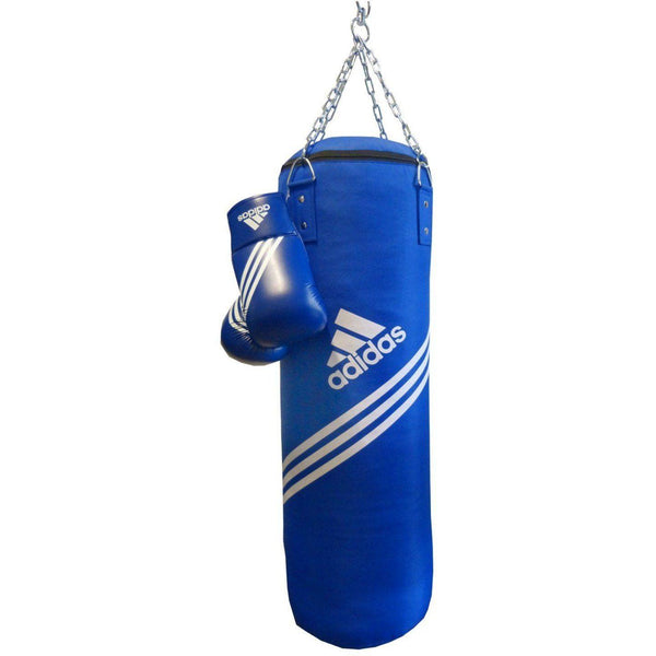 Boxsäcke - Adidas Boxing Set Box-Kit Blue Corner Blau, ADIBAC11SMU