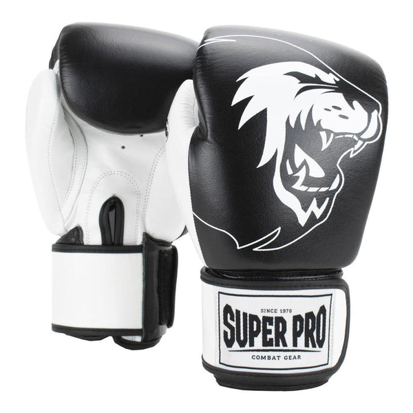 Super Pro Kampfsport Boxhandschuhe L, SPBGS100-90100-L - trainer4you