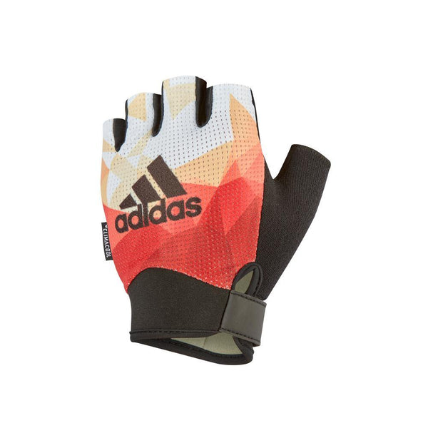 Fitness Handschuhe - Adidas Performance Women's Gloves - Orange/M