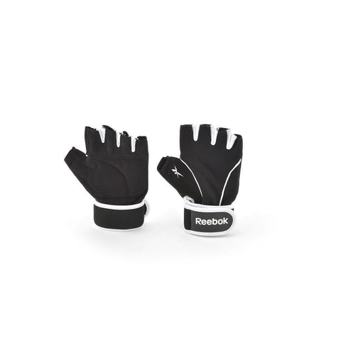 Fitness Handschuhe - Reebok Trainingshandschuh/ Training Gloves, Black/Schwarz, RAGL-11136BK - L