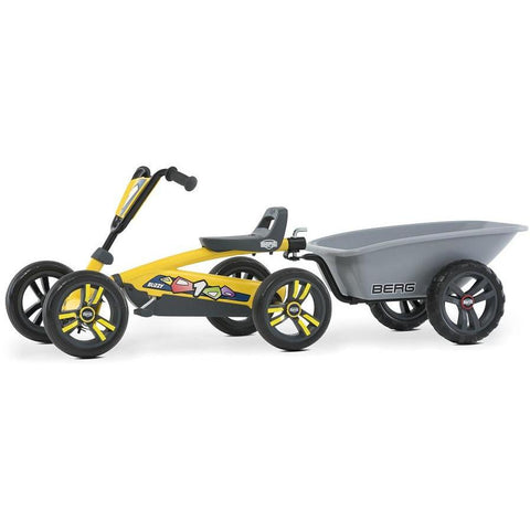 Go-Kart - BERG Toy´s Pedal Go-Kart Buzzy Yellow Mit Anhänger ,0181