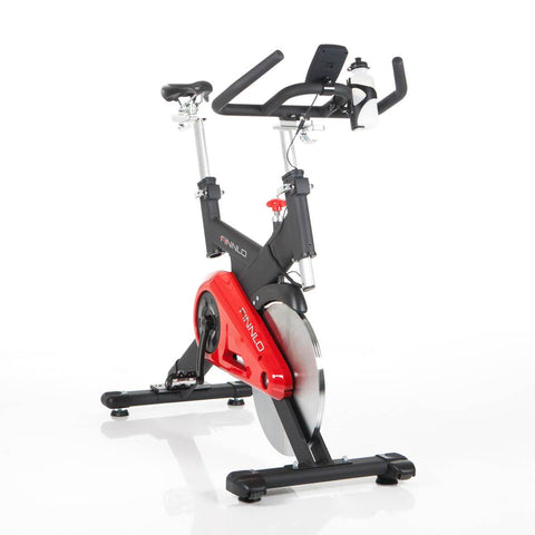 Indoorcycling/Speed Racer - Finnlo Indoor Cycle Speed Racer CRT Mit SPD-Klickpedalen, 3203