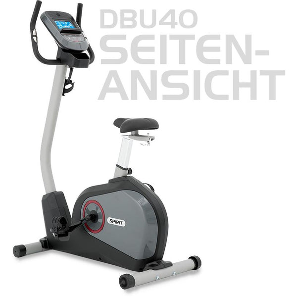 Mechanisch - Spirit Profi Heimtrainer DBU 40 Indoor Fitnessbike, 78505