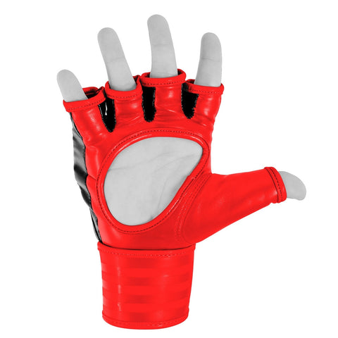 152138361, adidas Grappling Glove black/red M, ADICSG07-90400-M