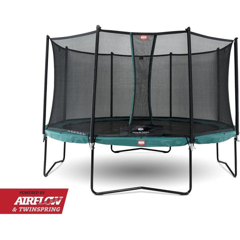 Trampolin - BERG Champion Green 380 Sicherheitsnetz Comfort, 35.42.04.01