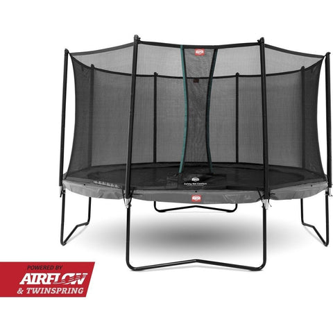 Trampolin - BERG Champion Grey 430 Sicherheitsnetz Comfort, 35.44.94.01