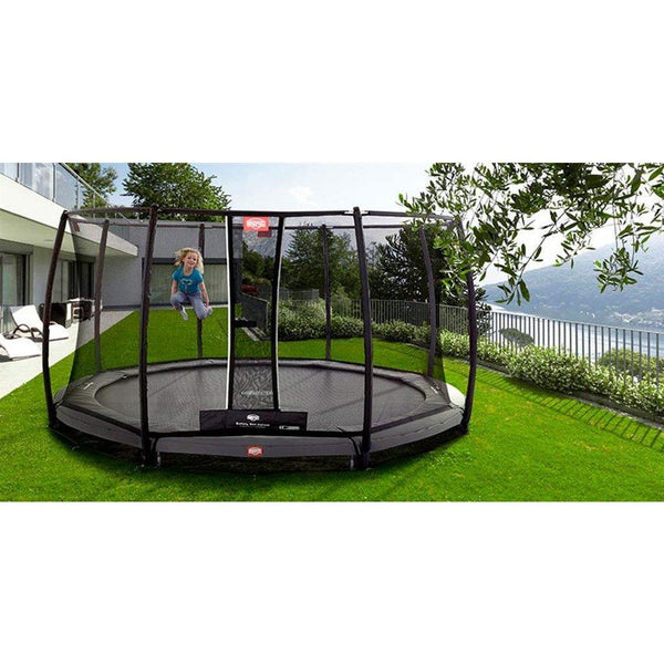 Trampolin - BERG InGround Trampolin Champion 430 Sicherheitsnetz Deluxe,35.44.91.01
