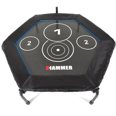Hammer Trampolin Cross Jump 120x130x140cm, 66426 - trainer4you