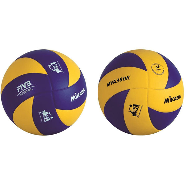 Volleyball - Mikasa Volleyball Training Und Freizeit MVA 380K-VBL Blau-Gelb, 1171
