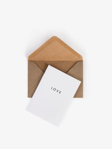 Greeting Cards small Love Low key good