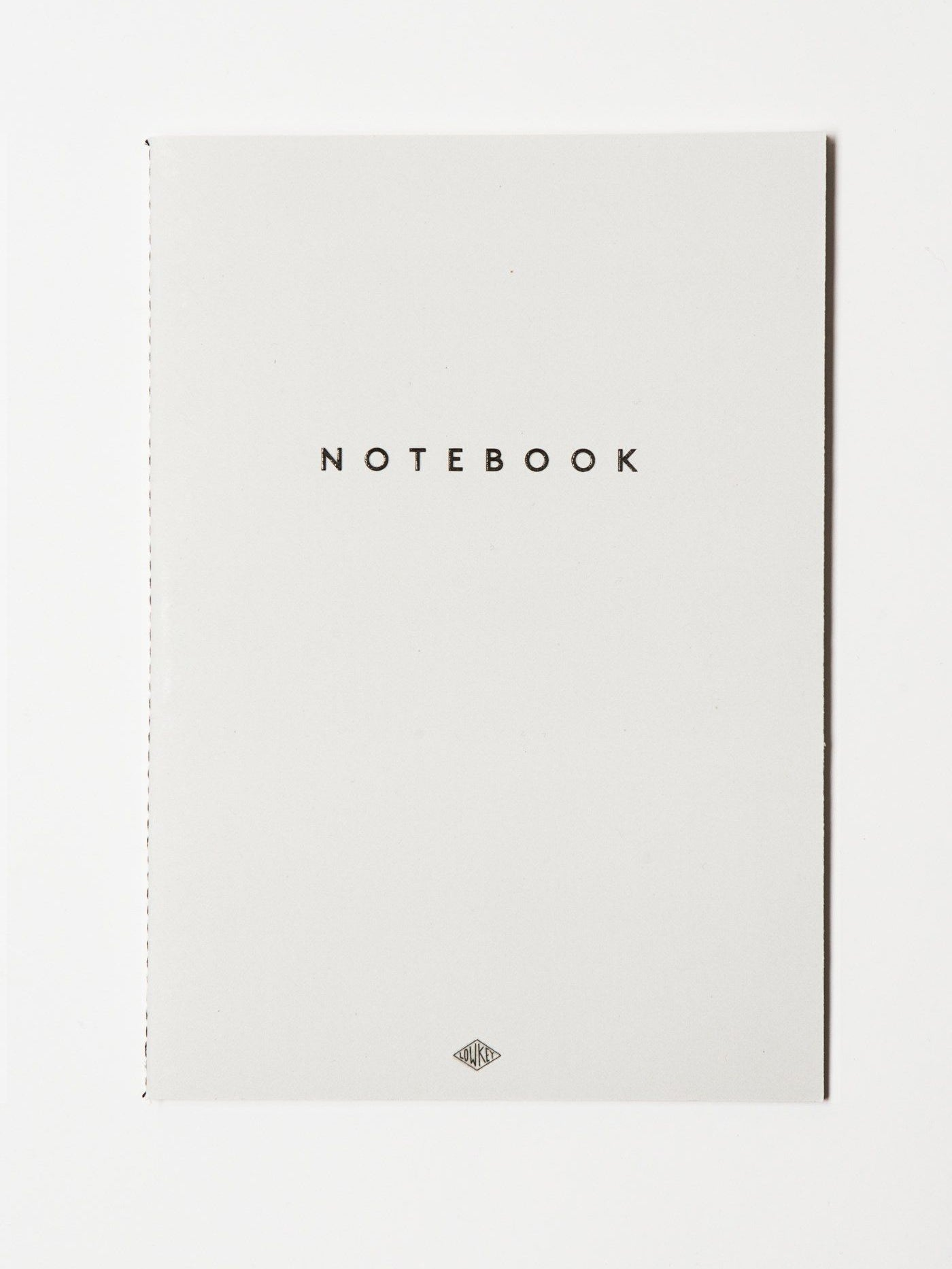 Notebook A5 grey Low key goods