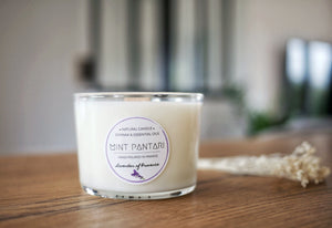 Glass Candles LAVENDER OF PROVENCE