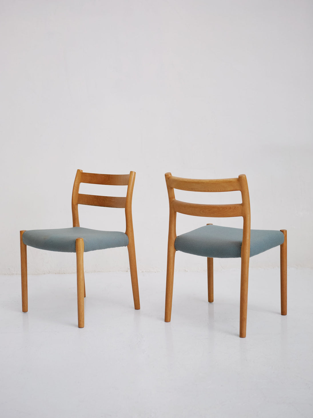 Set of N° 84 Chairs by Niels O. Møller for J.L. Møllers