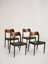 Load image into Gallery viewer, Dinning set ofN° 71 in Teak by Niels O. Møller