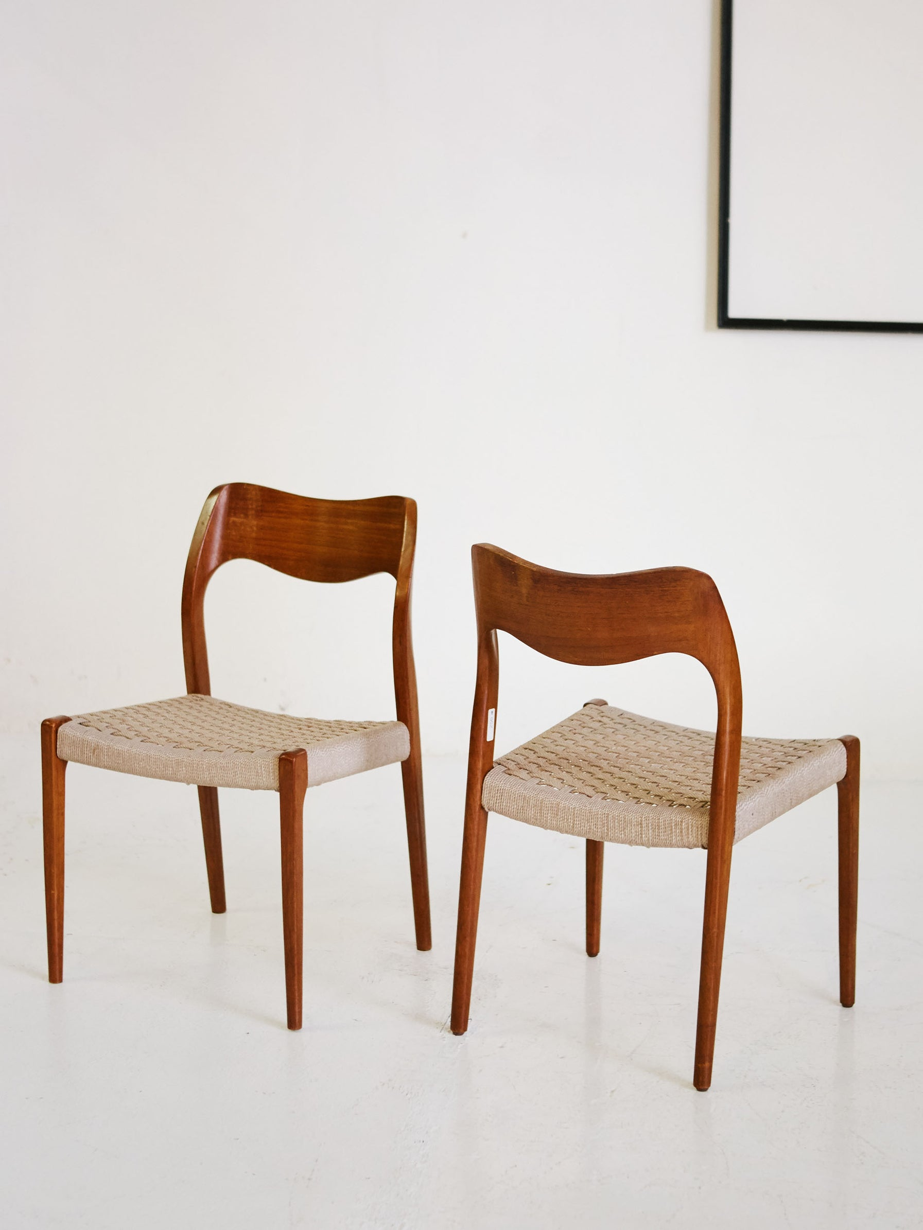 Set of N°71 in Teak by Niels O. Møller