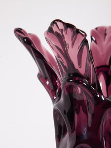 Explosive Glass Vase from Val Saint Lambert, 1930s