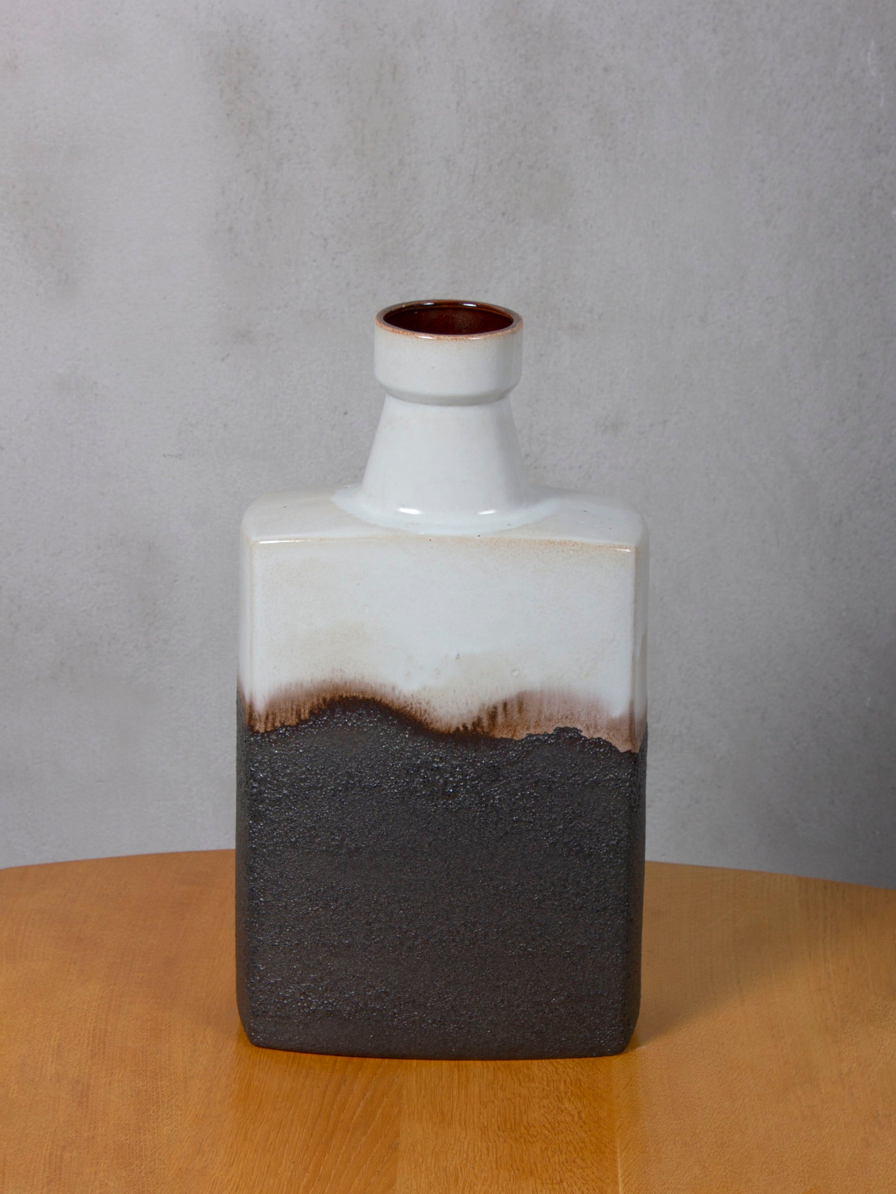 1960s German Vintage Block Vase
