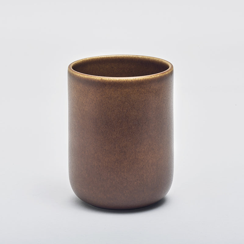Mette Duedahl LAND large mug, Chestnut