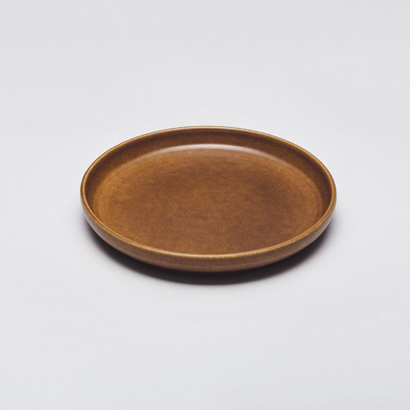 Mette Duedahl LAND lunch plate, Chestnut
