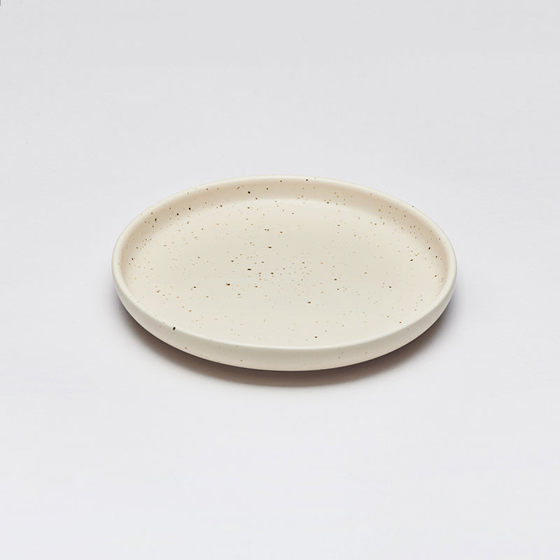 LAND lunch plate, Eggshell