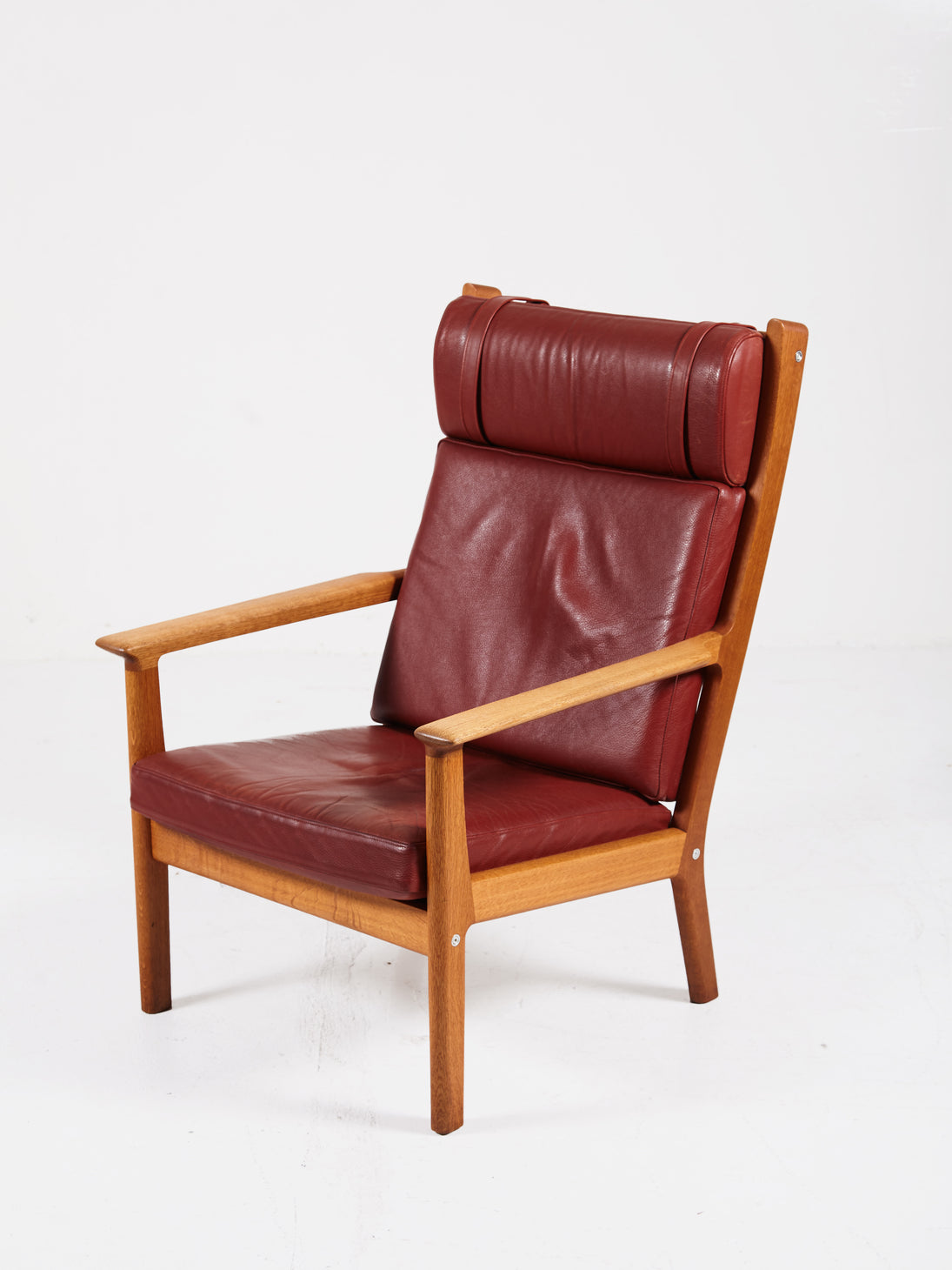 GE 265A Highback Chair by Hans Wegner for Getama