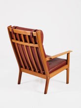 Load image into Gallery viewer, GE 265A Highback Chair by Hans Wegner for Getama