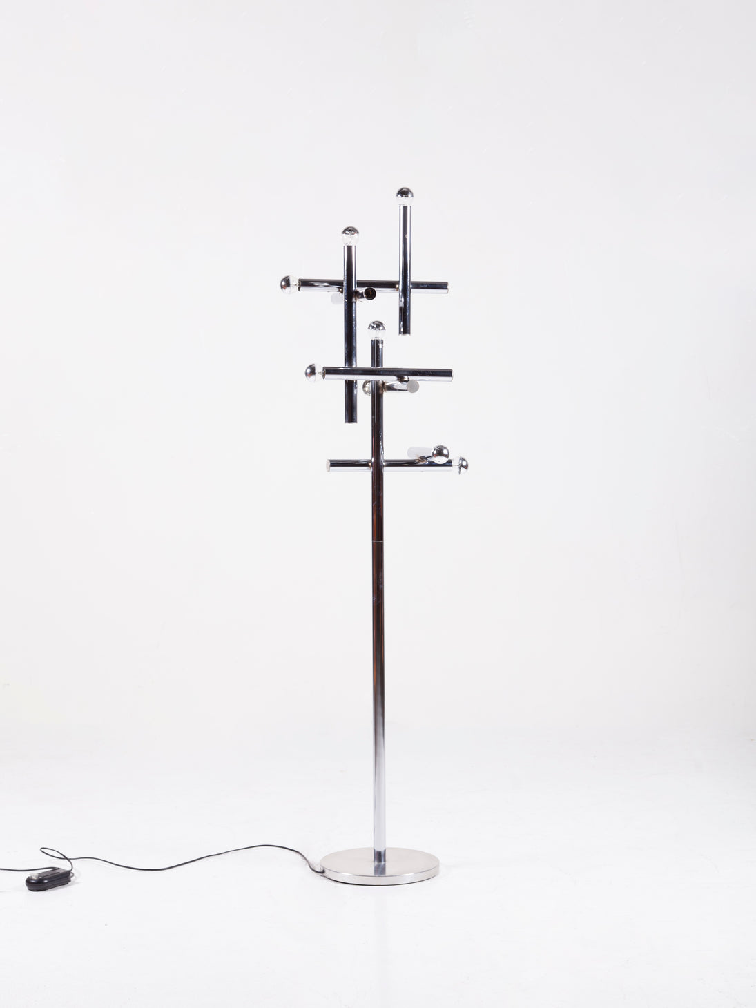 Geometric Vintage floor lamp by Temde Leuchten