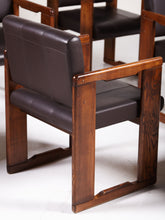 Load image into Gallery viewer, Italian 6 Armchair Set by Tobia Scarpa