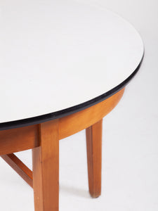 Danish 1960s Round Kitchen Table