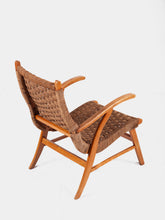 Load image into Gallery viewer, Armchair by Bas Van Pelt in Wood and Rope
