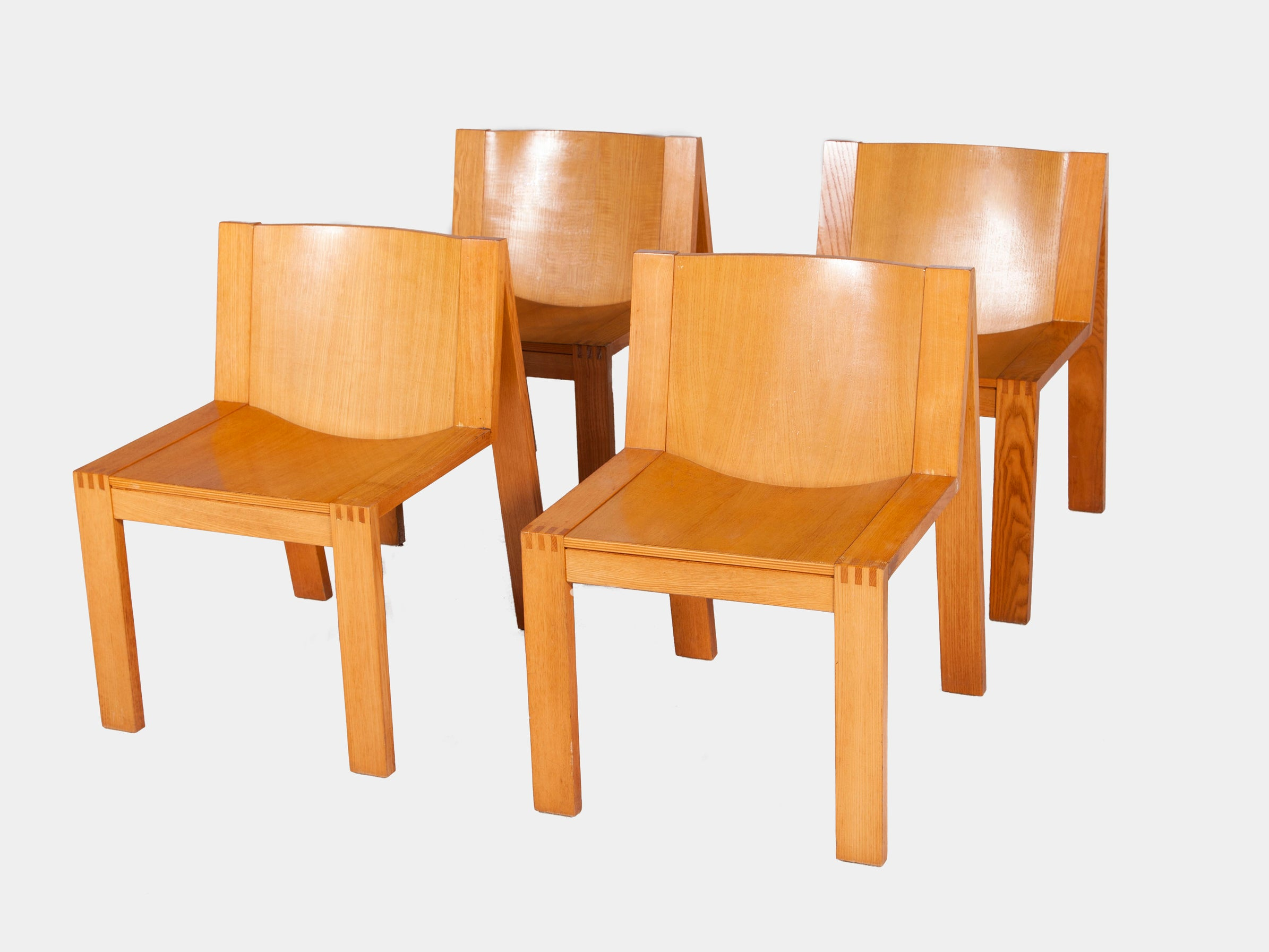SE15 Dining Chairs by Pierre Mazairac for Pastoe,
