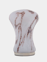 Load image into Gallery viewer, Vintage veined opaline table lamp