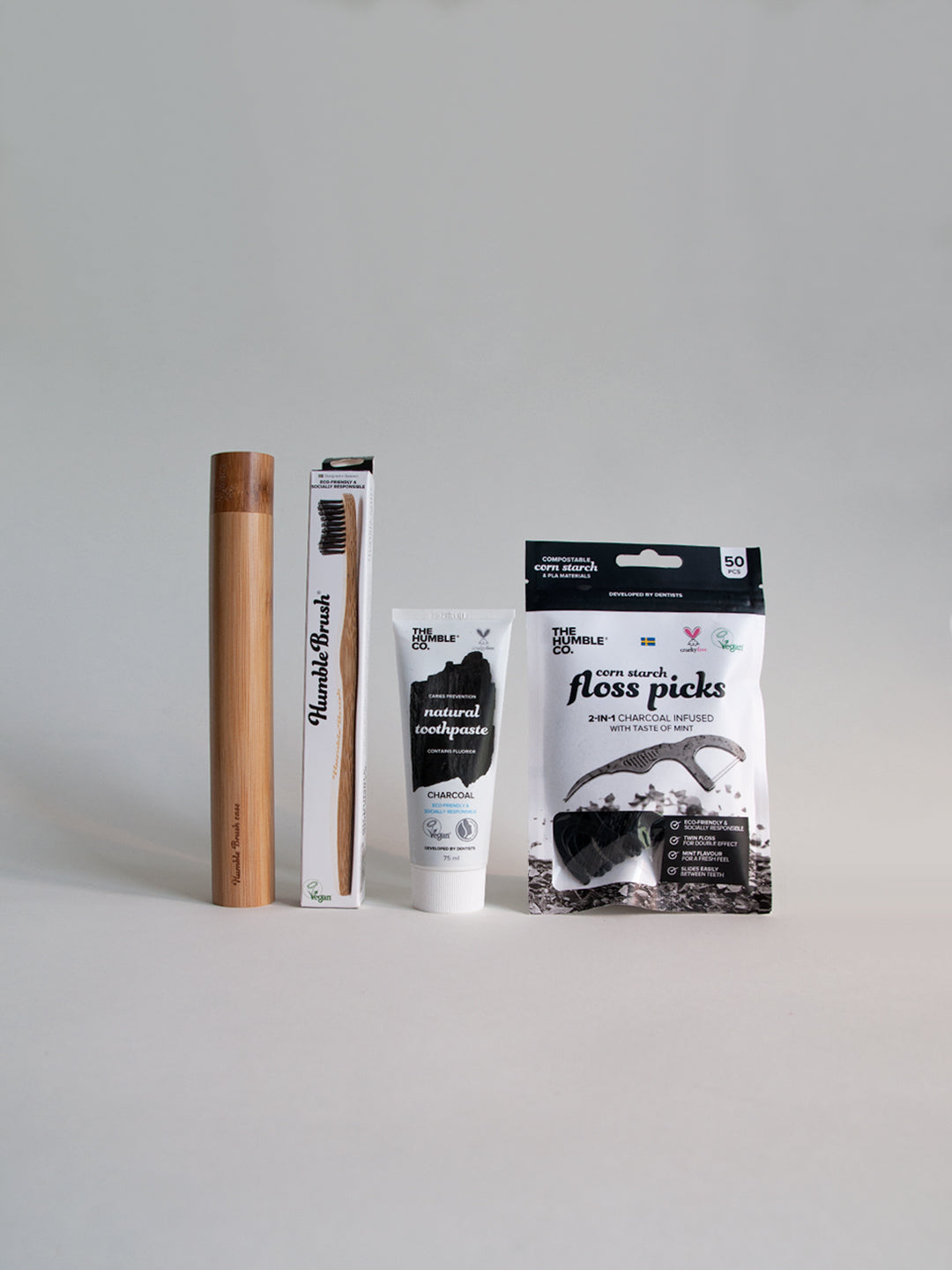 The Humble Co Gift Pack - Black Charcoal