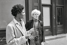Load image into Gallery viewer, Warhol on Basquiat. The Iconic Relationship Told in Andy Warhol's Words and Pictures