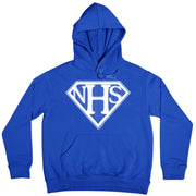 NHS Super Shield Adult Hooded Sweatshirt-Help Our NHS Heroes