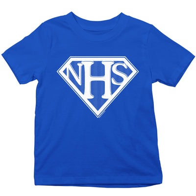 NHS Super Shield Kid's T-Shirt-Help Our NHS Heroes