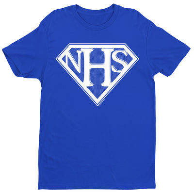 NHS Super Shield Men's T-Shirt-Help Our NHS Heroes