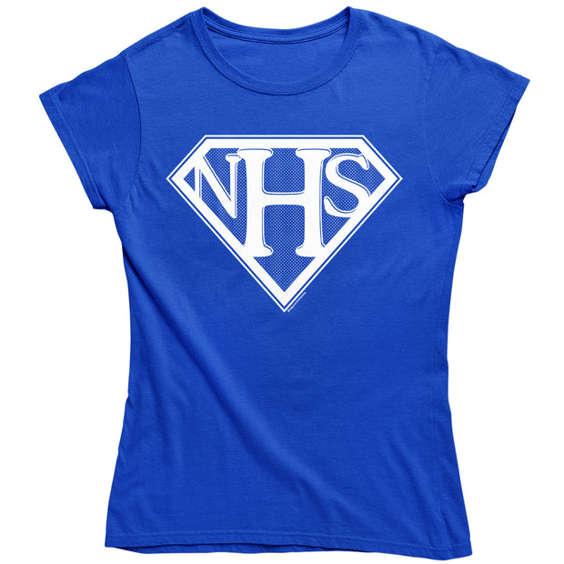NHS Super Shield Women's T-Shirt-Help Our NHS Heroes