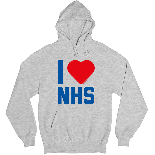 I Heart The NHS Kid's Hooded Sweatshirt-Help Our NHS Heroes