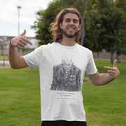Captain Tom Moore An Inspiration By Adrian Ventura Men's T-Shirt