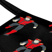 Captain Scarlet Spectrum Patrol Car Black Pattern Kids Face Mask