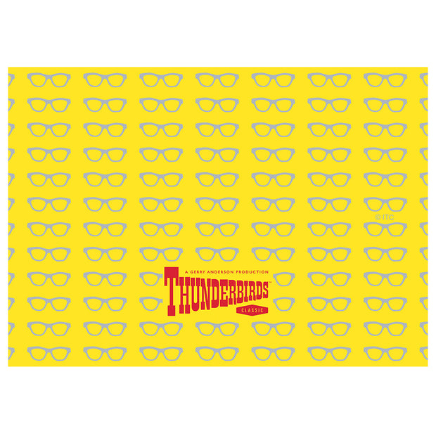 Thunderbirds Brains Glasses Pattern Adult Face Mask
